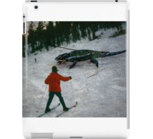 35mm Found Slide Composite - Snow Lizard iPad Case/Skin