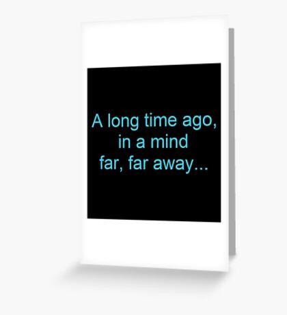 Star Wars Parody Greeting Card