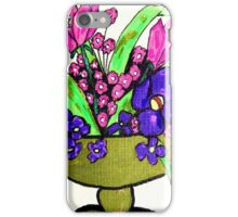 Centerpiece Flowers iPhone Case/Skin
