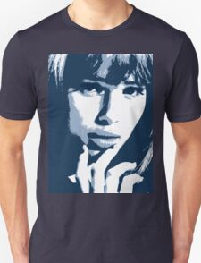 Love Blue - beautiful girl with erotic eyes Unisex T-Shirt