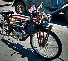 1910 Motorcycle by Diego Re