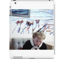 35mm Found Slide Composite - Fish Lady iPad Case/Skin