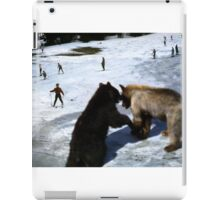 35mm Found Slide Composite - Giant Bears iPad Case/Skin