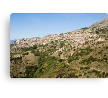 Greece, Delphi Landscape  Canvas Print