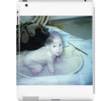 35mm Found Slide Composite - Mantis Baby iPad Case/Skin
