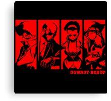 Cowboy Bebop Character Canvas Print