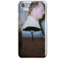35mm Found Slide Composite - Piano Tree iPhone Case/Skin