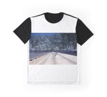 35mm Found Slide Composite - Tree Bridge Graphic T-Shirt