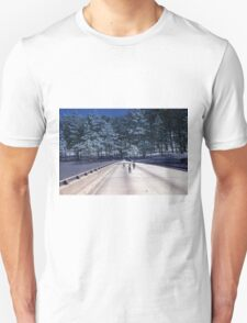 35mm Found Slide Composite - Tree Bridge T-Shirt
