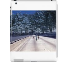 35mm Found Slide Composite - Tree Bridge iPad Case/Skin