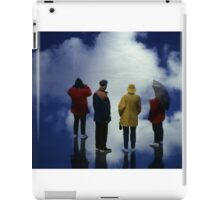 35mm Found Slide Composite - Cloud Quartet iPad Case/Skin