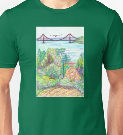 Golden Gate - Berkeley Tilden View Unisex T-Shirt