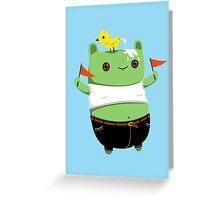 Poophead Greeting Card