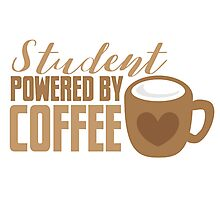 Student powered by coffee Photographic Print
