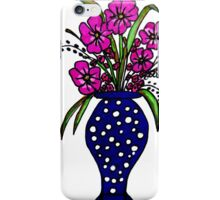 Polka Dotted Bouquet iPhone Case/Skin
