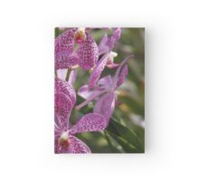 Orchid  Hardcover Journal