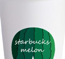 Starbucks melon Sticker
