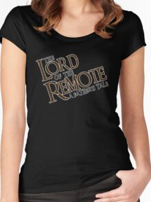 The Lord of the Remote Women's Fitted Scoop T-Shirt