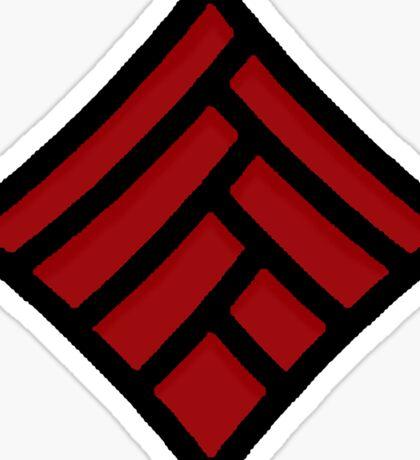 Symbol of the Qunari Sticker
