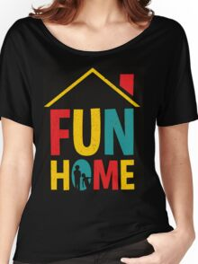 Fun Home Logo Women's Relaxed Fit T-Shirt