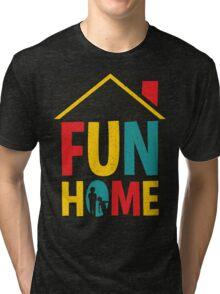 Fun Home Logo Tri-blend T-Shirt