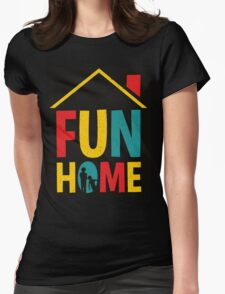 Fun Home Logo Womens Fitted T-Shirt