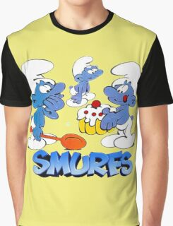 smurf Graphic T-Shirt