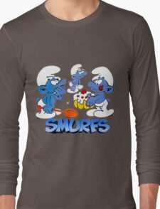 smurf Long Sleeve T-Shirt