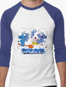 smurf Men's Baseball ¾ T-Shirt