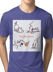 dog Tri-blend T-Shirt