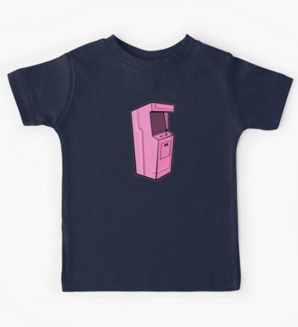 Arcade, Pink Kids Tee