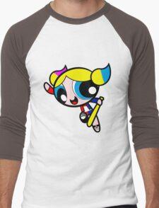 Harley Quinn Bubbles Men's Baseball ¾ T-Shirt