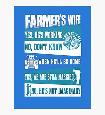 farmer Photographic Print