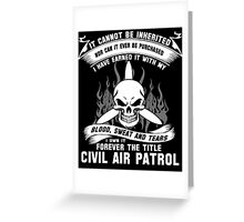 Always Vigilant Air Force  America Auxiliary of the United States Air  Greeting Card