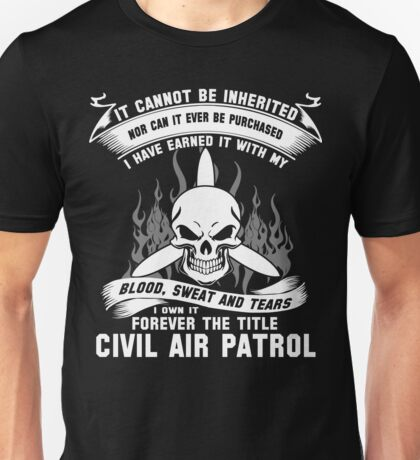 Always Vigilant Air Force  America Auxiliary of the United States Air  Unisex T-Shirt