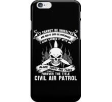 Always Vigilant Air Force  America Auxiliary of the United States Air  iPhone Case/Skin