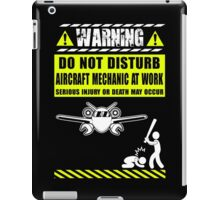 aircraft mechanics Mechanic Sayings T Shirts aircraft mechanic tools R iPad Case/Skin