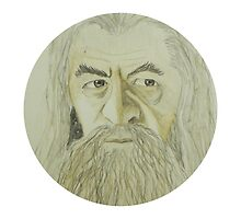 Gandalf Watercolour by libby95