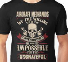 aircraft mechanic Car Mechanic T Shirts aircraft mechanic Auto Mechani Unisex T-Shirt