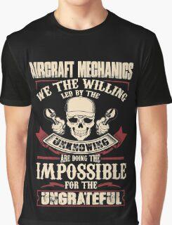 aircraft mechanic Car Mechanic T Shirts aircraft mechanic Auto Mechani Graphic T-Shirt