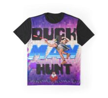 Duckman Hunt 8 Bit Retro Graphic T-Shirt