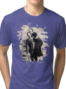 Bonnie & Clyde (bleached look) Tri-blend T-Shirt