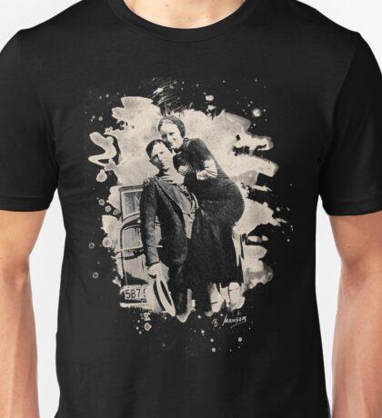 Bonnie & Clyde (bleached look) Unisex T-Shirt