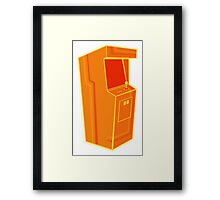 Arcade, Orange 2 Framed Print