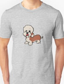 Dandie Dinmont Terrier cartoon dog2. T-Shirt