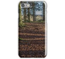 Grim's Ditch, Buckinghamshire iPhone Case/Skin