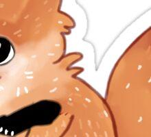 Chibi Red Fox Kitsune Kit  Sticker
