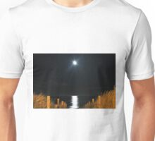 By the light of the Silvery moon Unisex T-Shirt