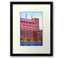 Museu de Electricidade. edp. Lisboa. Framed Print