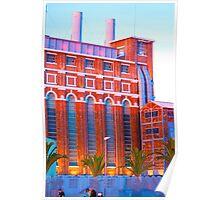 Museu de Electricidade. edp. Lisboa. Poster